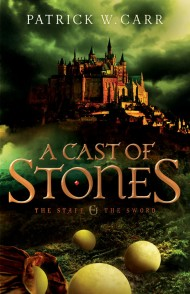 a cast of stones novel cover by patrick carr