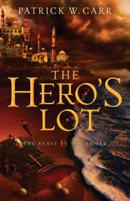 the hero's lot novel cover by patrick carr